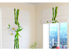Pimendav roomakardin Bamboo and white orchid 1