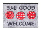 Vaip Welcome Good Bye 50x75 cm A5-111187