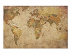 Seinapilt puidul, World Map, 50 x75 cm ED-113163