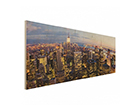 Seinapilt puidul New York Skyline ED-113185