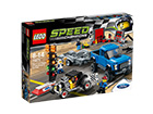 LEGO Speed Champions Ford F150 ja Ford Hot Rod RO-115651