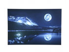 LED pilt Mural Full Moon 60x40 cm ED-116005