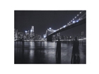 LED pilt Brooklyn bridge 40x30 cm ED-116030