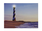 LED pilt Lighthouse 40x30 cm ED-116037