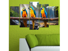 Viieosaline seinapilt Animal Kingdom 100x60 cm ED-116596
