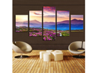 Viieosaline seinapilt Mountain Meadows 160x80 cm ED-117467