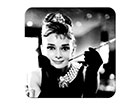 Retro klaasialused Breakfast at Tiffany's Audrey, 4tk SG-118278
