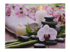 LED pilt Candles & Orchids 30x40 cm ED-118511