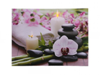 LED pilt Candles & Orchids 50x70 cm ED-118512