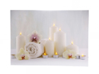 LED pilt Candles & Towels 30x40 cm ED-118515