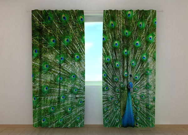 Pimendav kardin Beautiful Peacock 240x220 cm ED-134173