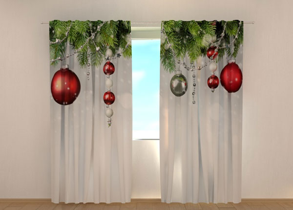 Pimendav kardin Christmas Decorations 240x220 cm ED-146937