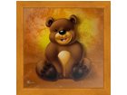 Pilt Children - Brown Bear 16x16 cm OG-37706