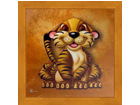 Pilt Children - Tiger 16x16 cm OG-37708