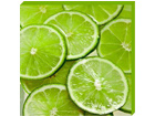 Pilt Canvas - Sliced limes 50x50 cm OG-37745