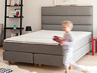 Sleepwell Red Continental voodi hard 180x200 cm SW-66663
