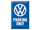 Retro metallposter VW Parking only 20x30cm SG-74271