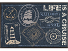 Vaip Life is a Cruise 50x75 cm A5-74501