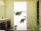 Fototapeet Diving Turtles 100x210cm ED-76682