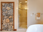 Fototapeet Wall of Granite 100x210cm ED-76723