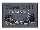Vaip Shoes off Please 50x75 cm