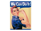 Retro metallposter We can do it! 30x40cm SG-78917