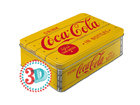 Plekkpurk 3D Coca-Cola in bottles 2,5L SG-80672