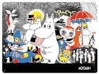 Retro metallposter Muumid Comic 1 30x40cm SG-81119