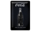 Retro metallposter Coca-Cola Sign of good taste 20x30 cm SG-84333