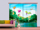 Fotokardin Disney Fairies with rainbow 180x160 cm ED-87112