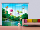 Poolpimedav fotokardin Disney Fairies with rainbow 280x245 cm ED-87333