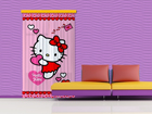Poolpimendav fotokardin Hello Kitty Heart 140x245 cm ED-87438