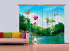 Pimendav fotokardin Disney Fairies with rainbow 280x245 cm ED-87461