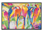 Vaip Parrots party 50x75 cm A5-87616