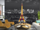 Fototapeet Eiffel Tower at night 360x254 cm ED-88082