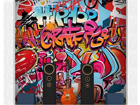 Fototapeet Hiphop graffiti wall 300x280 cm ED-89205