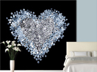 Fototapeet Heart of diamond 300x280 cm ED-89212