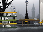 Fliis-fototapeet Magical London 360x270 cm ED-90565