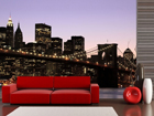Fliis-fototapeet Manhattan night 360x270 cm ED-90578
