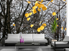 Fliis-fototapeet Yellow leaves 360x270 cm ED-90603