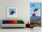 Fliis-fototapeet Disney Cars flies 90x202 cm ED-90940