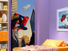 Fliis-fototapeet Spiderman and the city 90x202 cm ED-90985