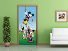 Fliis-fototapeet Disney Mickey on a rope 90x202 cm ED-91002