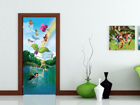 Fliis-fototapeet Disney fairies in the Rainbow 90x202 cm ED-91055