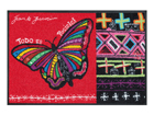 Vaip Butterfly Dreams 50x75 cm A5-91481
