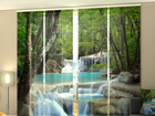 Poolpimendav paneelkardin Thai Waterfall in Spring 240x240 cm ED-97637