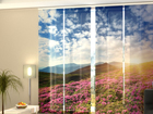 Pimendav paneelkardin Flowers and mountains 240x240 cm ED-97641