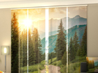 Pimendav paneelkardin Sun and Mountains 240x240 cm ED-97722