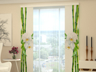 Poolpimendav paneelkardin Bamboo and white orchid 80x240 cm ED-97733