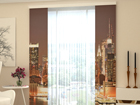 Pimendav paneelkardin Evening Manhattan 80x240 cm ED-97774